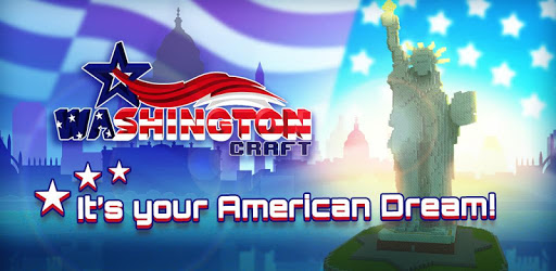 Games Like Washington Craft: 🇺🇸 Blocky Building Games 2018 For