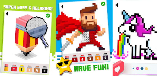 Games Like Color Pixels - Color by number by Pixel Art Games