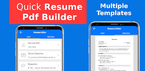 Apps Like Top Resume Pdf Builder For Freshers And Experience