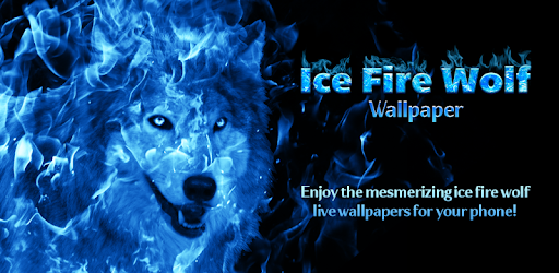 Apps Like Ice Fire Wolf Wallpaper For Android Moreappslike