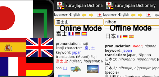 Apps Like Euro-Japan dictionary For Android - MoreAppsLike