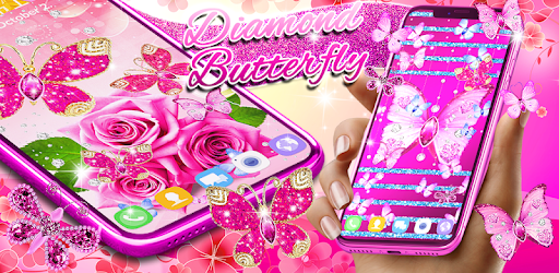 Apps Like Diamond Butterfly Pink Live Wallpaper For Android