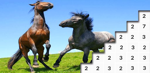 Games Like Horses Pixel Art: Paint Pony Color By Number Game