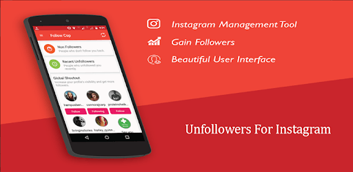 Apps Like Unfollowers For Instagram - non followers For Android