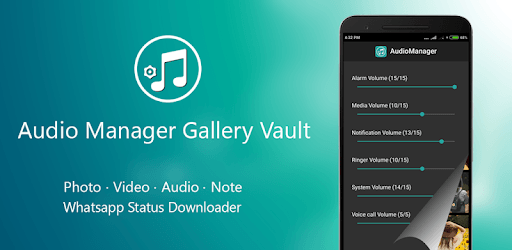 Apps Like Audio Manager Gallery Vault: Hide photos-videos