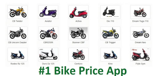 Apps Like India Bikes : Price App : Reviews Colors Problems For