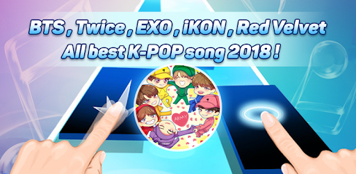 Apps Like Piano Tiles KPOP Magic - BTS, EXO, TWICE Songs For
